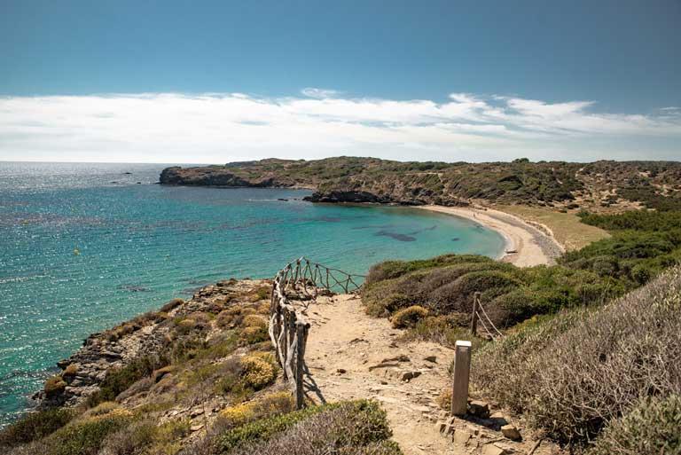 Cami de Cavalls walk in Menorca