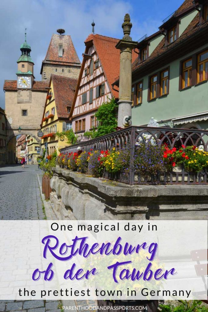 Planning a day trip to Rothenburg ob der Tauber from Munich, Nuremburg or Frankfurt? Here are the top 10 things to do in Rothenburg ob der Tauber, the pretties town in Germany. This travel guide provides a magical one day itinerary for the German village. Plus, we include recommendations on where to stay in Rothenburg ob der Tauber because you will definitely want to spend a night in the picturesque town. #germany #rothenburgobdertauber #europe