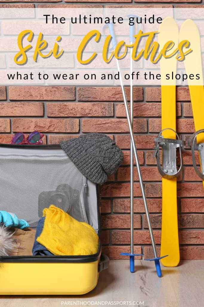 What to wear skiing - a Ski attire and gear guide for those going skiing for the first time. This guide provides tips for choosing the right ski clothing, and lays out everything you will need to go skiing for the first time.