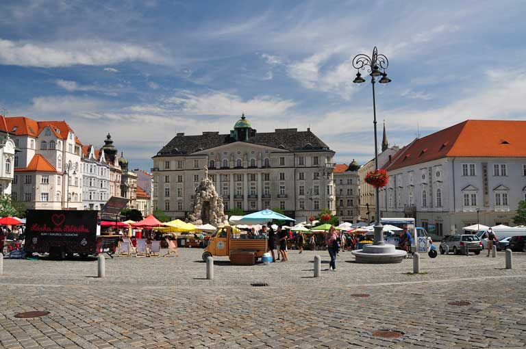 Is Brno worth visiting? The Brno Vegetable Market is the best place to experience local atmosphere.