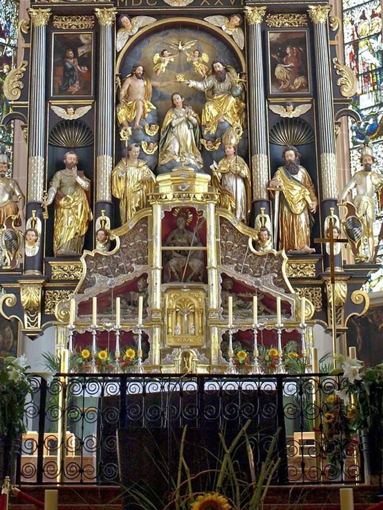 altar at Basilica St. Michael