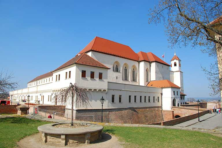 Spilberk Castle - one of the top attractions in Brno.