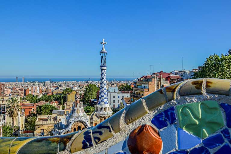 Spain bucket list - Park Guell in Barcelona