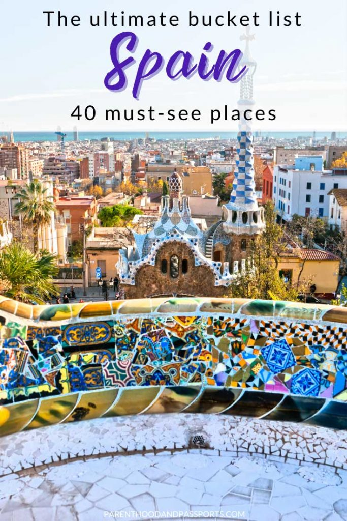 From Barcelona to Seville there are so many beautiful places in Spain and incredible experiences to add to your Spain bucket list. To help you plan your Spain travel, here are 40 must-see places to add to your Spain itinerary. #spain #bucketlist #travel