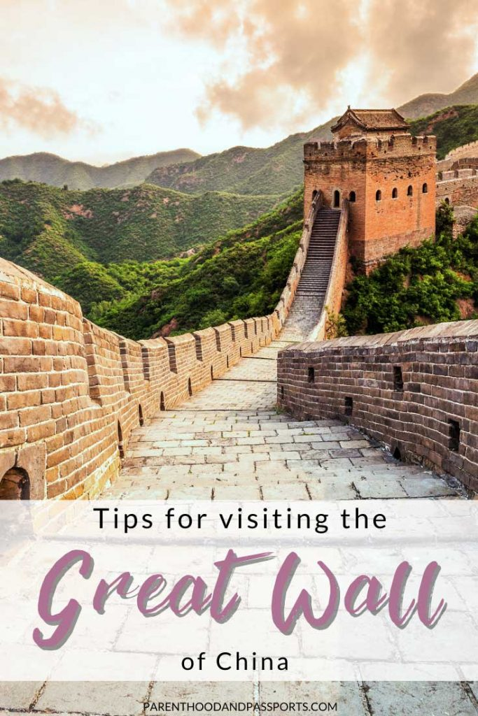 Tips for hiking the Great Wall of China. Everything you need to know about visiting the Great Wall of China with kids (or without). #china #asia #greatwall