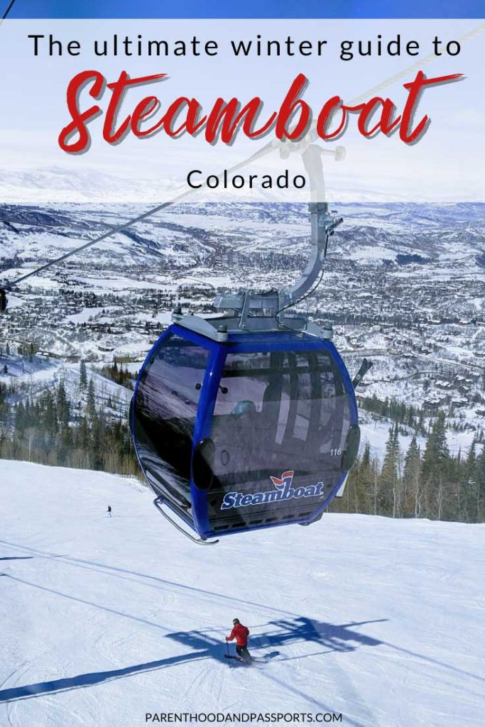 Looking for the best things to do in Steamboat Colorado in winter? Here is a winter guide to Steamboat Springs, including the best winter activities and a mountain guide to Steamboat Resort for skiers and snowboards of all levels. #colorado #wintertravel #steamboatsprings