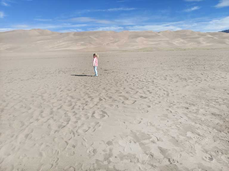 Great Sand Dunes National Park in South Colorado is a great addition to any southwest USA road trip
