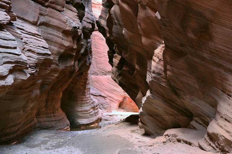 Buckskin Gulch slot canyon in southern Utah