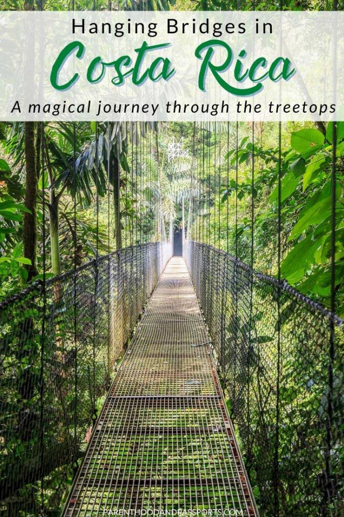 Looking for a hanging bridge tour in Costa Rica? Here are some of the best canopy tours in the Arenal area of Costa Rica to help plan your Costa Rica travel.  | Activities in Costa Rica | La Fortuna activities | things to do in Costa Rica | suspension bridges | Costa Rica vacation