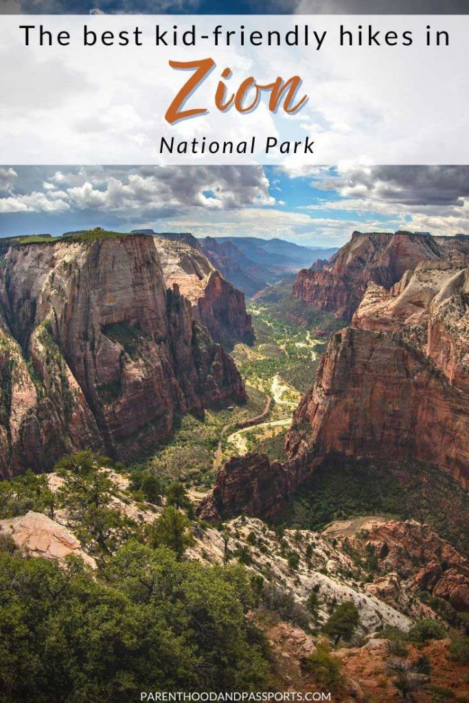 A family vacation to Zion National Park is an opportunity to explore one of the most beautiful areas of the country, hike some of the most famous trails in America, and learn about nature by connecting with it! Luckily, there are a lot of things to do in Zion with kids, including easy kid-friendly hikes in Zion and other fun outdoor activities. | Utah National Parks | United States National Parks | Utah Mighty 5 | Utah family vacation | family travel | hiking with kids | summer travel | United States travel