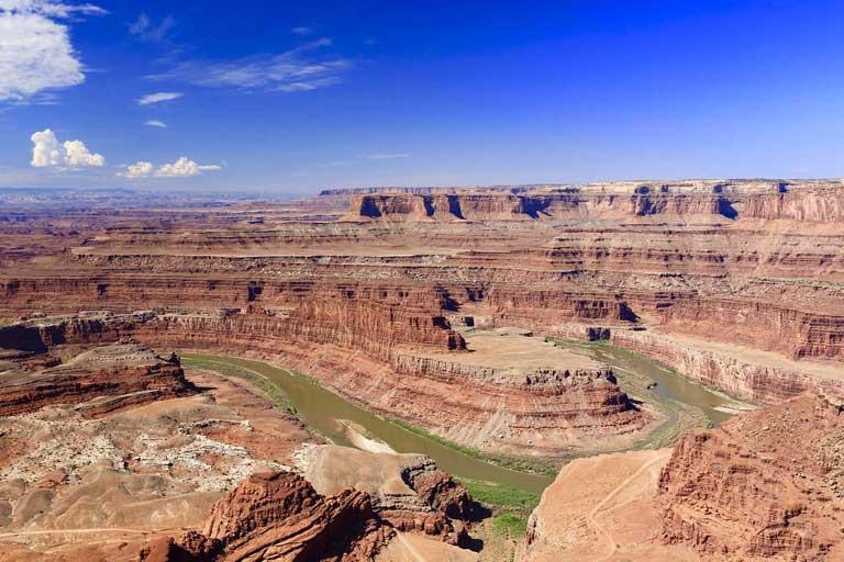 Dead Horse Point State Park near Moab Utah