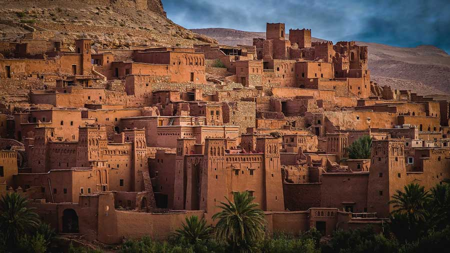 Aït Benhaddou, one of the best sites in Morocco to visit because it is a UNESCO World Heritage site.