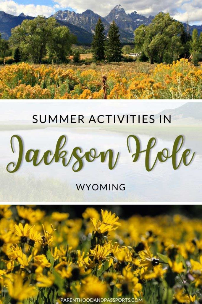Planning to visit Yellowstone or Grand Teton National Park in summer? This guide to the best summer activities in Jackson Hole, Wyoming highlights the top things to do in Jackson Hole on a summer vacation, including the best activities in Grand Teton and Yellowstone. | USA Travel | Summer Travel | National Parks in the United States