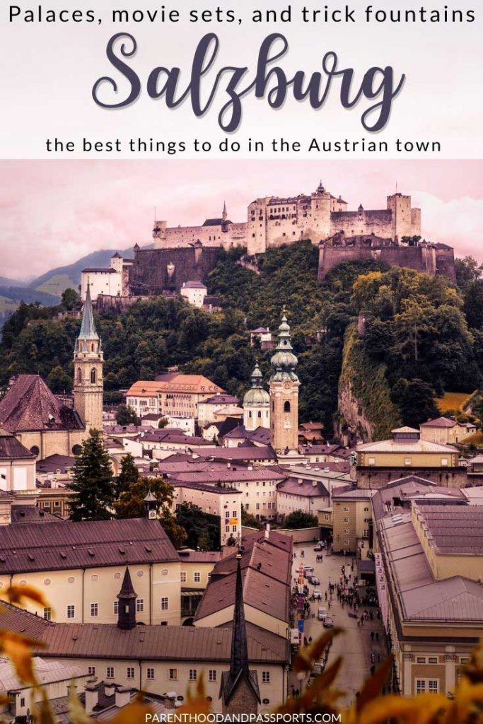 This Salzburg travel guide details the best things to do in Salzburg with kids, the best places to stay in Salzburg for families, and an easy itinerary to follow that will make your visit to the charming Austrian city a memorable one. | Austria travel | Salzburg Austria | fortresses in Europe | charming cities in Europe | European family travel