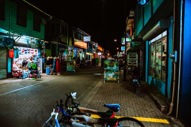 San Ignacio Belize at night