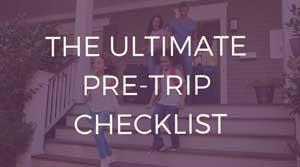 pre-trip checklist