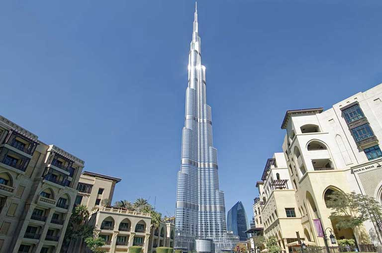 Burj Khalifa, the world's tallest building - a must see site if visiting Dubai with kids or without.
