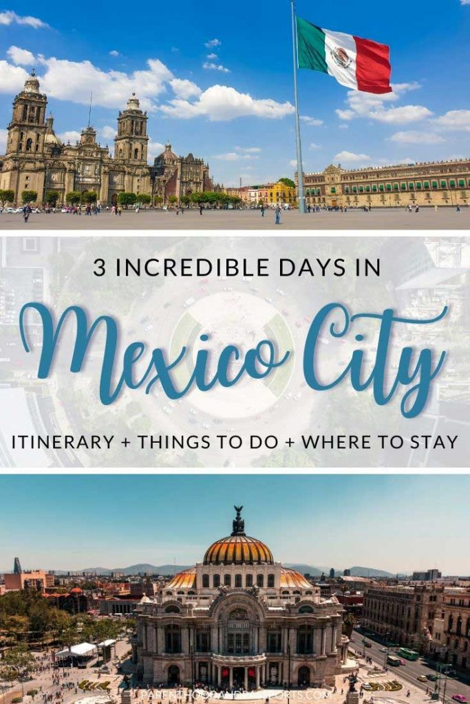 This Mexico City travel guide highlights the top things to do in 3 days in Mexico City and includes a suggested itinerary, travel tips for visiting the Mexico capital, and hotel recommendations to maximize your 3-day Mexico City trip.