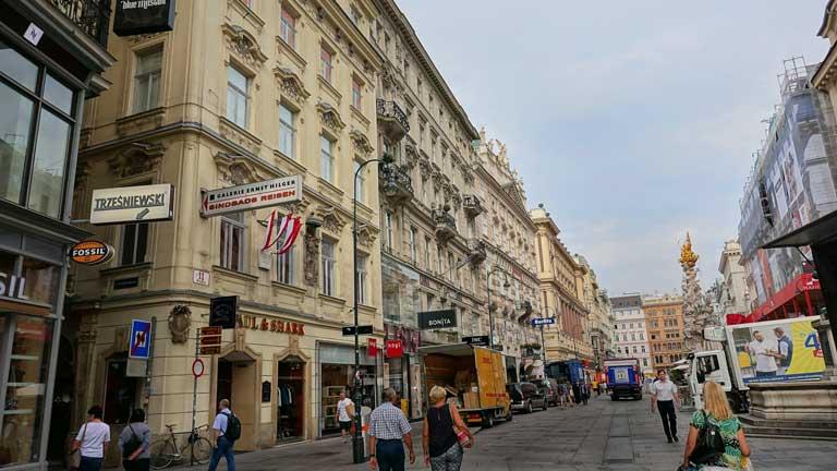 The Graben in Vienna