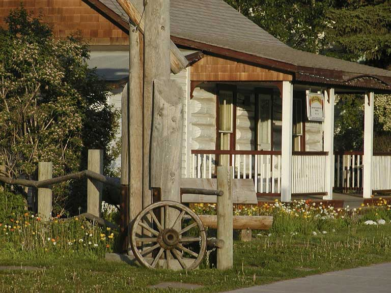 Canmore rustic building