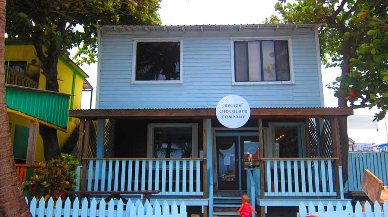 The Belize Chocolate Company - one of the best places to visit in San Pedro Belize with kids