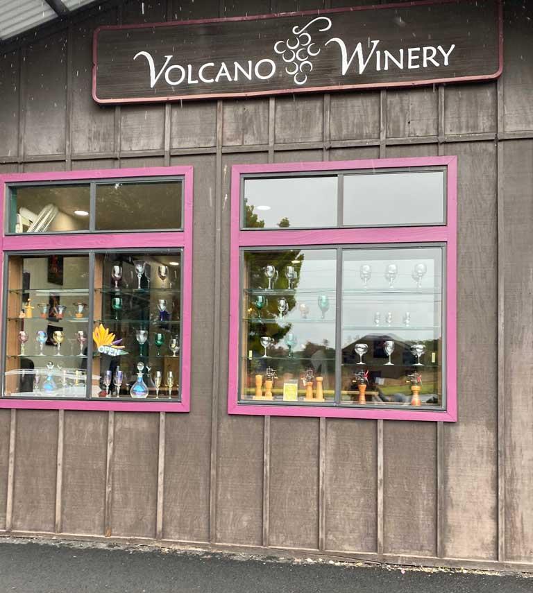 Volcano Winery on Hawaii's Big Island.