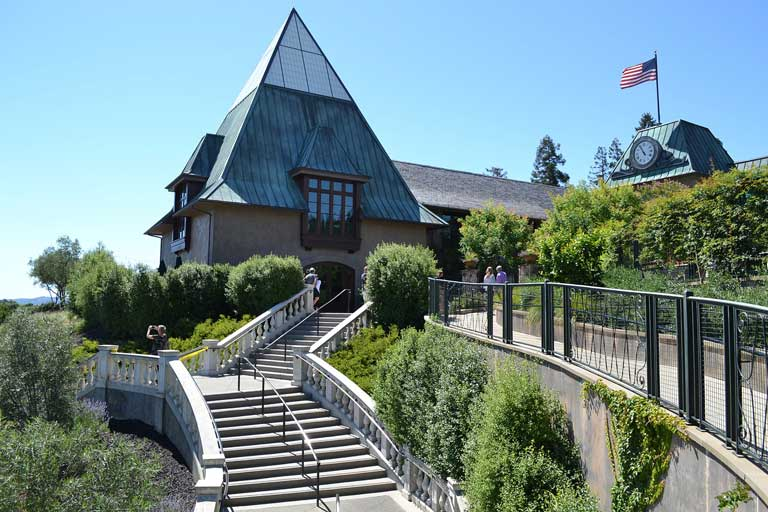 Coppola Winery -one of the most kid-friendly wineries in the USA.