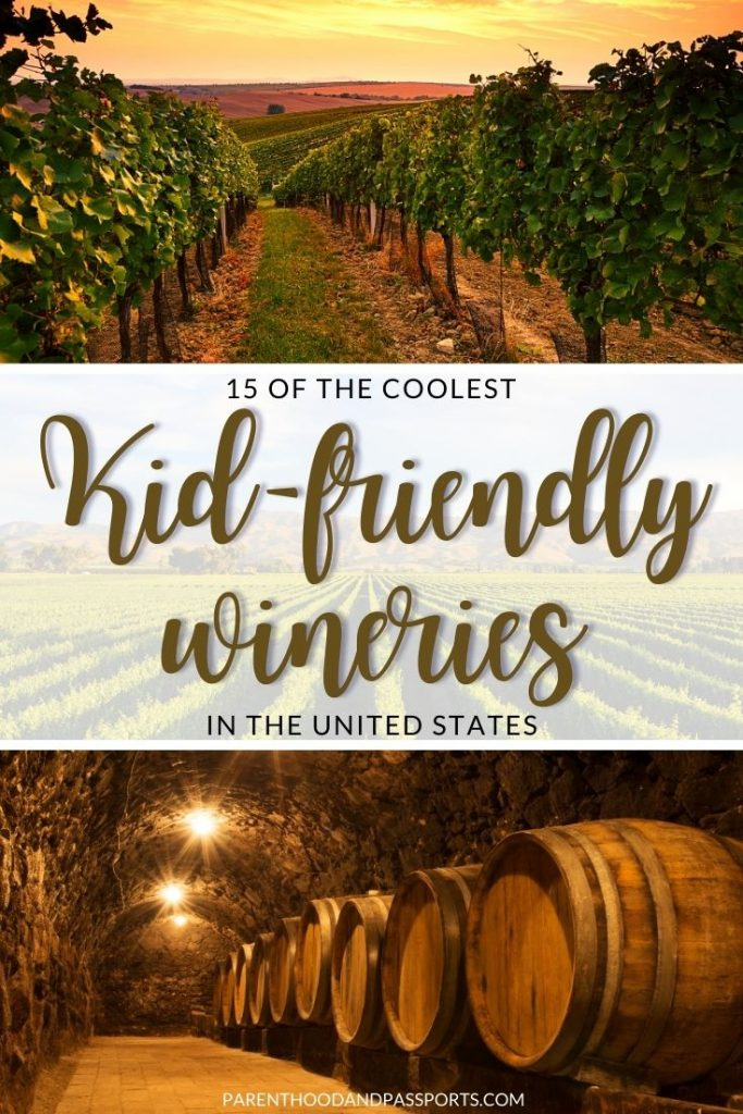 This guide to kid-friendly wineries in the United States highlights vineyards from Napa Valley to the East Coast where kids will have as much fun as adults.   USA travel   wine tasting   family travel   napa valley   sonoma county   texas hill country   best wineries   family-friendly wineries