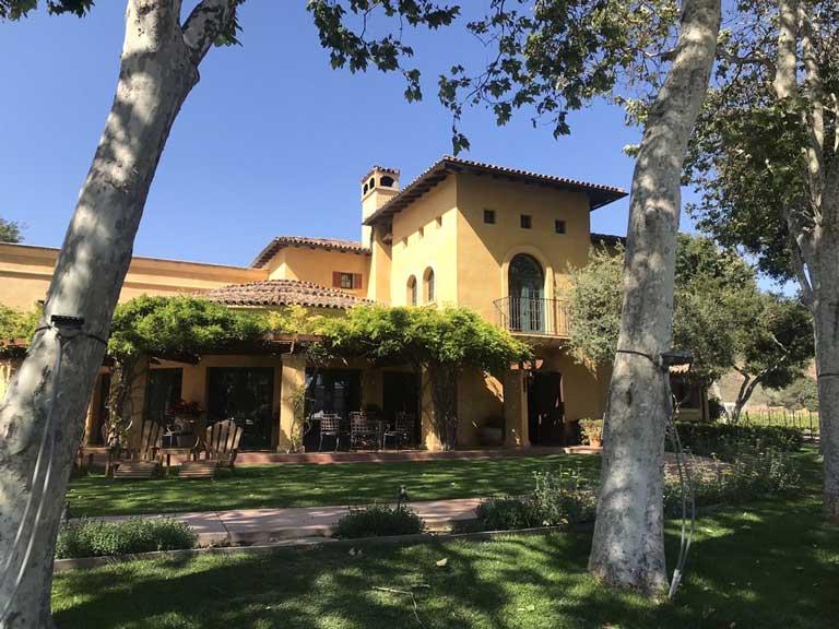 Melville Winery, a family-friendly winery near Santa Barbara, California.