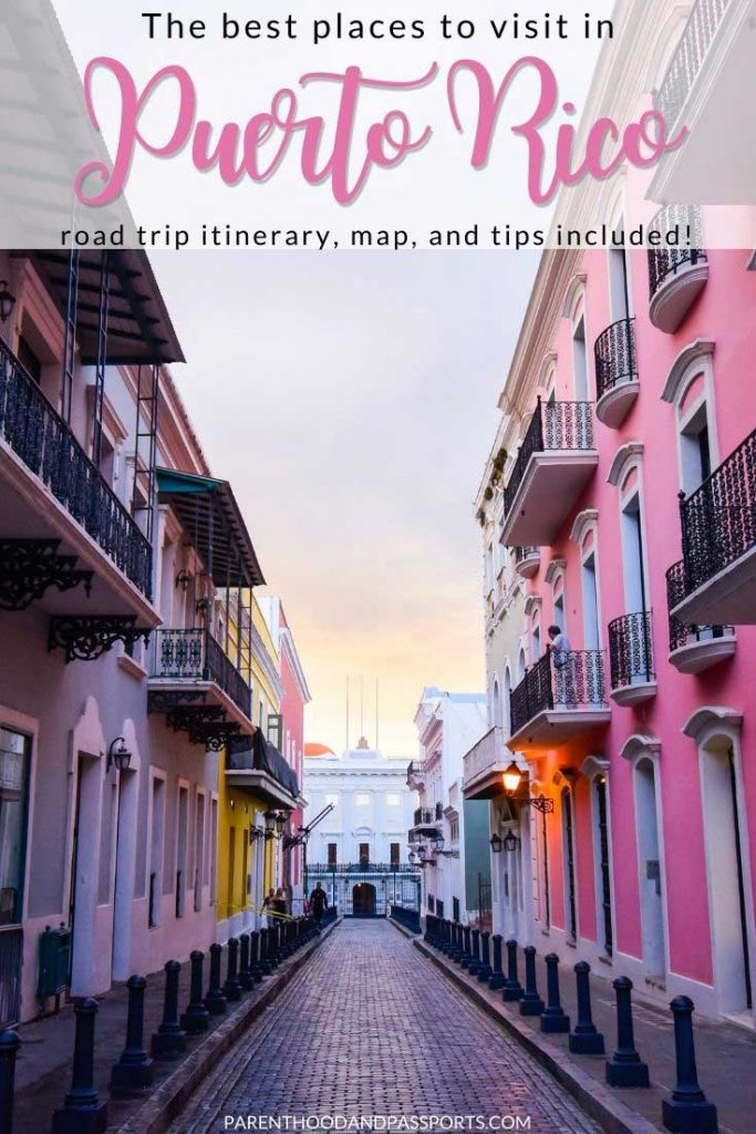 This Puerto Rico itinerary can easily be followed whether you have 4 days in Puerto Rico or plan to spend one week on a Puerto Rico road trip. We've also included a Puerto Rico road trip map of all of our recommended stops and lodging recommendations to help you visualize and prepare for your Puerto Rico vacation.   Puerto Rico travel   Puerto Rico places to visit   Puerto Rico things to do   Road trip Puerto Rico