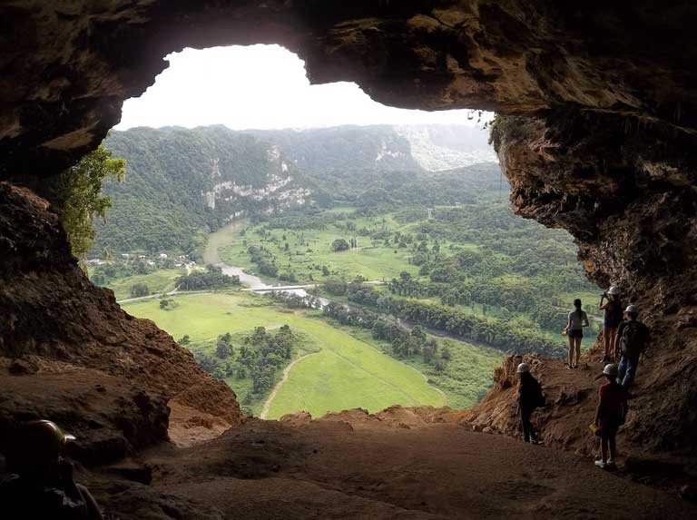 the view from Cueva Ventana
