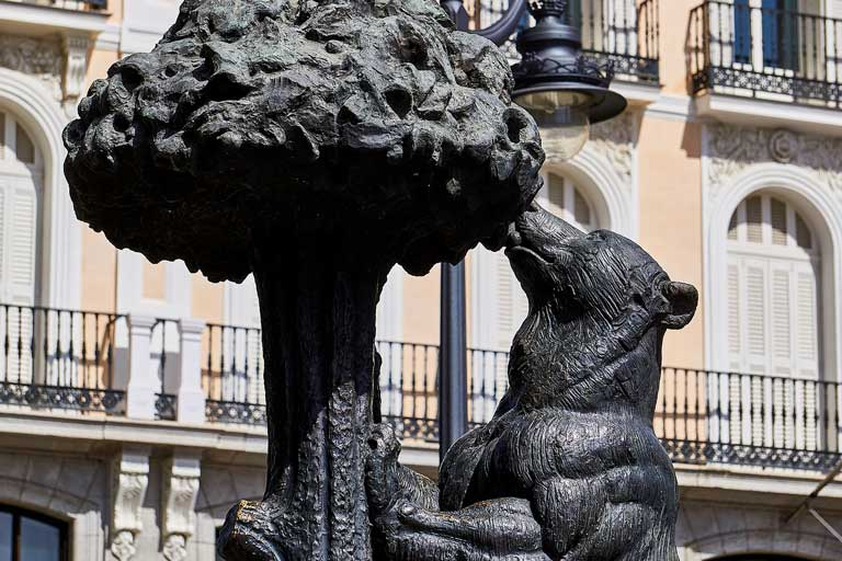 The Bear and the Strawberry Tree has become a symbol of the city of Madrid, Spain