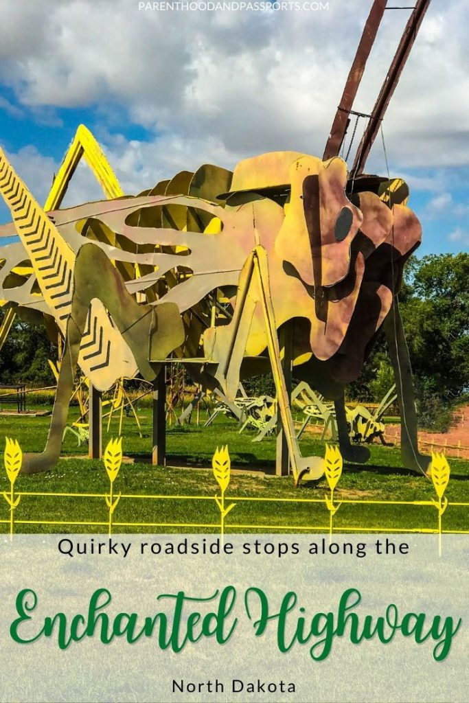 The North Dakota Enchanted Highway is a whimsical road trip where rolling hills and farmland splendidly meet massive scrap metal sculptures.   North Dakota travel   things to do in North Dakota   USA road trip   roadside attractions   world's largest