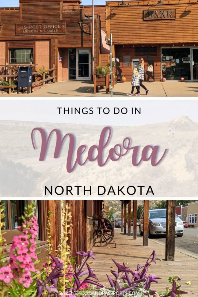 Medora is a tiny town, but it is designed for entertainment, so there are a lot of great things to do in Medora, North Dakota for all ages. | USA travel | small USA towns | US national parks | places to visit in North Dakota